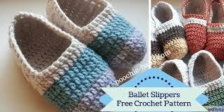 Free Crochet Slipper Patterns Extraordinary Free Crochet Pattern Women's Ballet Slippers Mimi Gaylor's