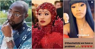 B W Gooseneck Hitch Application Chart Rapper Cardi B Takes Nigerian Name Chioma B Davido Reacts