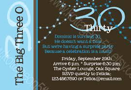 30th birthday invitation ideas 30th birthday invitations for him 30th birthday invitations for him