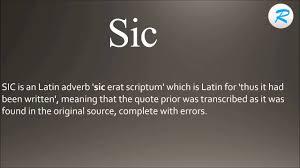 Acompanhe aqui todas as novidades do canal. How To Pronounce Sic Youtube