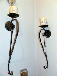 electric wall sconces modern lighting. Brilliant Electric Fascinating Sconces Wall Set Of Lights Candles And Iron On The In Electric Modern Lighting C