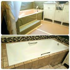 cost to reglaze bathtub how how much does it cost to reglaze a bathtub and tile