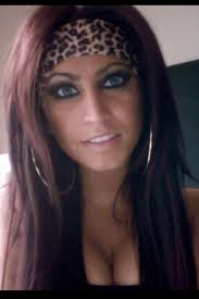 tracy dimarco leopard headband make up and big hoops tracy dimarco hair jerseylicious tracy
