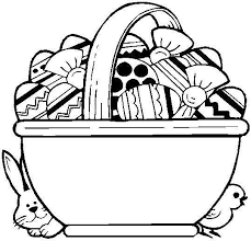 Small Picture free printable easter basket coloring pages 6 printable easter