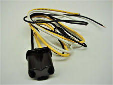 3 prong plug connector 3 prong headlight head lamp plug wire harness connector for harley 67753 60 24