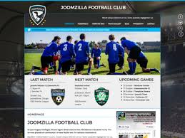 joomla football template. Joomla Template JoomZilla FC