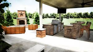 Small Picture Kitchen Modern Rustic Outdoor Designing Ideas With Stone As