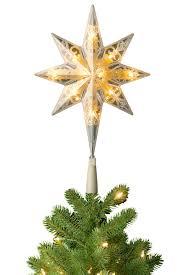 Pre-lit Bethlehem Star Christmas Tree Topper - Soft White