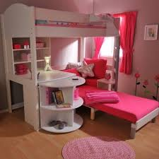 Cool Teenager Room With Storage Bunk Beds And Loft Beds design