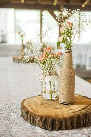 How to Create those Stunning Handmade Wedding Table Decorations - Be at one  with the trees