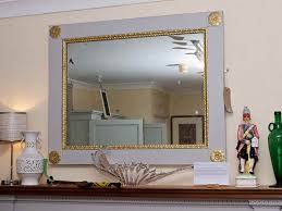 image of great living room wall mirrors
