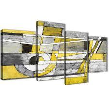 canvas grey canvas wall art incredible large yellow grey painting abstract bedroom canvas wall art decor