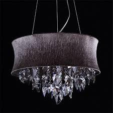 fumat smoke grey crystal chandelier modern suspension light for of smoke nakita cer pendant ceiling lights
