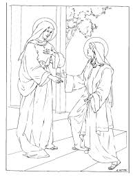 Small Picture Mary and Elizabeth Bible coloring page bible craft Pinterest