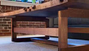 wood slab coffee table infusion furniture