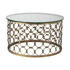 vintage brass metal coffee tables with glass top oval glass metal coffee tables with glass top