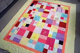 Childhood Memory Quilts made from clothing & Baby Girl Childhood Memory Quilt Adamdwight.com