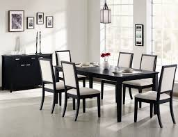Dining Room Table Black Black Dining Table And Chairs Set Decordesignshowcom