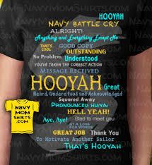 Navy Hooyah Shirts For Navy Family Friendsnavy Family