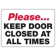 please lock door. Please Keep Door Locksed Sign Images Digital Lock Miami