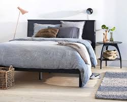 scan design bedroom furniture. Scandinavian Designs - Expertly Handcrafted From Solid Ash Wood, The Nordby Bed Boasts Gentle, Modern Lines With A Slightly Tapered Linear Headboard And Scan Design Bedroom Furniture
