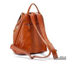brown leather backpack satchel brown leather back pack purse