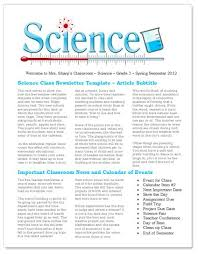 Microsoft Word Free Templates Science Teacher Education Newsletter Free Template For Microsoft