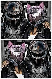 Predator Motorcycle Helmet Designs Cat Ear Motorcycle Helmet Predator Motorcycle Helmet