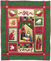 NATIVITY Mini Quilt from Quilts by Elena Silhouette Applique Wall ... & A writer's look at the quilting and quilt art community and anything else  fabric. Adamdwight.com