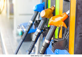 diesel fuel pump nozzle in stock photos diesel fuel pump nozzle colorful fuel pumps fuel nozzle at gas station in thailand stock image