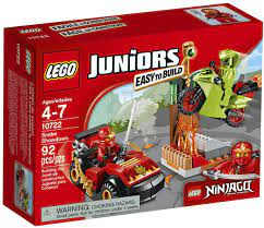 LEGO Juniors Ninjago Snake Showdown (10722) by LEGO Juniors: Amazon.de:  Spielzeug