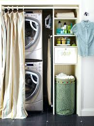 stackable washer dryer closet ideas view full size and design