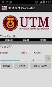 Utm Gpa Calculator 1 1 Free Download