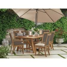 Outdoor dining sets with umbrella Outside Table Members Mark Sunbrella 9piece Teak Dining Set Pinterest Outdoor Furniture Sets For The Patio Sams Club