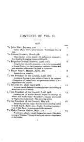 the writings of george washington vol ii online original table of contents or first page