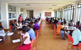 special university entry examinations for diploma programmes  students in the makerere university library