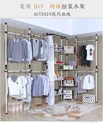 the large assembly hanger metal frame locker corner cabinet cloakroom clothes rack hanger diy creative pvc pipessweet
