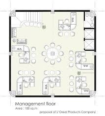 modern office floor plans. Floor Plan Of Management Modern Office Plans