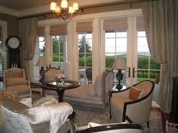 ... Living Room, Living Room Window Treatments With Carpet And Sofa And  Window And Clock And ...