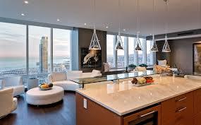 glass ceiling lights bar