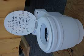 tiny house toilet. Photo By Brandy Todt Composting Toilet Example. Tiny House