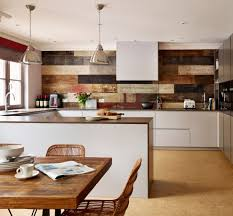 Kitchen Feature Wall Straight Line Kitchen Contemporary With Feature Wall Dining