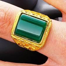 Rings Brass <b>Gold</b>-<b>plated Sand Gold</b> Agate Ring 24K <b>Gold</b>-<b>plated</b> ...