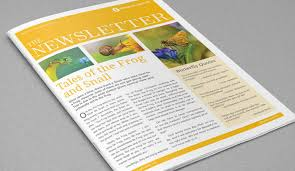 Free Downloadable Newsletter Template Free Download Newsletter Design Templates Lisut