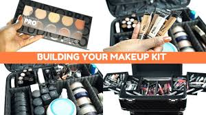 how to build a makeup kit for beginners makeup artists