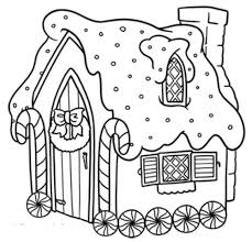 Small Picture gingerbread house coloring pages for toddlers Gingerbread House