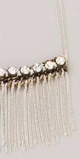 <b>Long Crystal</b> & <b>Fringe Necklace</b> | <b>fringe necklace</b> | <b>Fringe necklace</b> ...