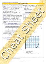 calculus review sheet calculus trigonometry review
