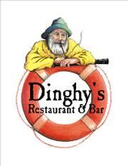 Image result for dinghy's restaurant logo
