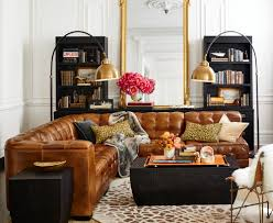 Pottery Barn For Living Room Sofa Pottery Barn Tufted Leather Gmotrilogy